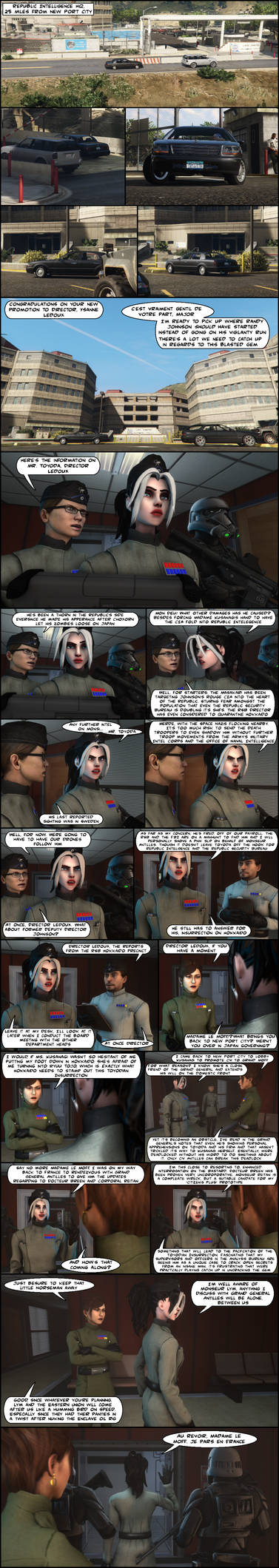 GenMarshall DYOS PwP Comic #1: Enter Ysanne Ledoux by GenMarshall