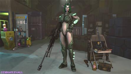 Ghost Agent Valerya