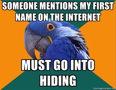 I must go into hiding. by Twiggierjet