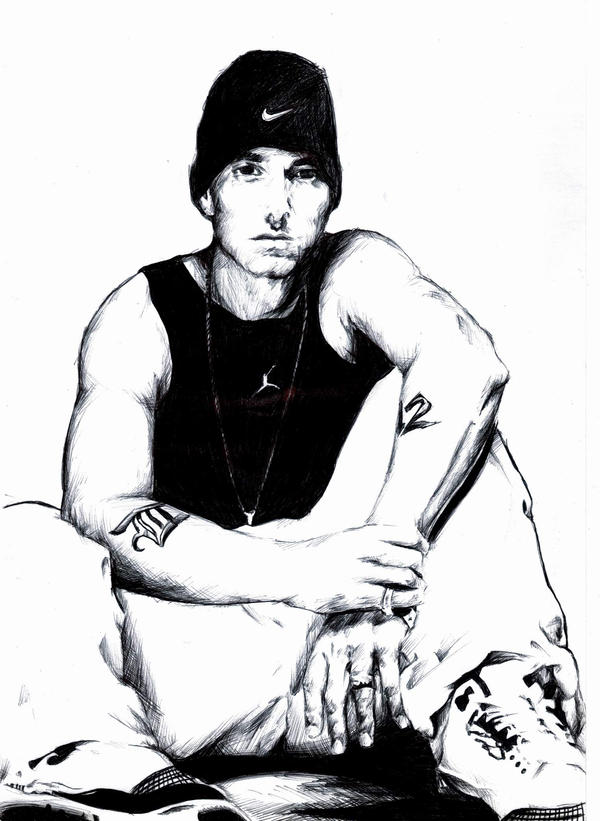 2368838 further Eminem Poster besides Look Its All Your Favourite Rappers Reimagined As Cartoons as well Eminem 214844728 furthermore How To Draw Nicki Minaj. on cartoon eminem drawing