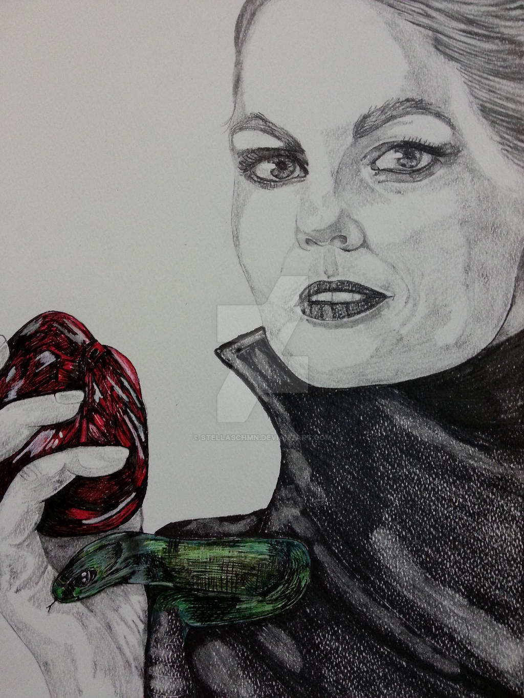 Jennifer Morrison Once Upon A Time Dark Swan By Stellaschmn On