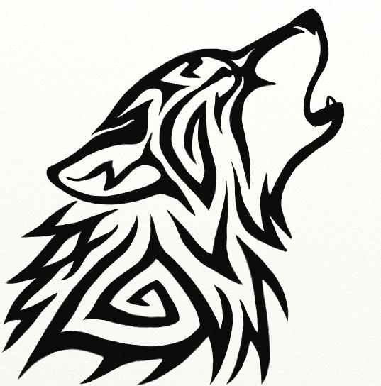 Tribal Wolf Wallpaper: Tribal Wolf Avatar By Hareguizer On DeviantArt