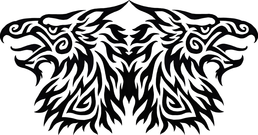 Double Gryphon Tribal by Hareguizer