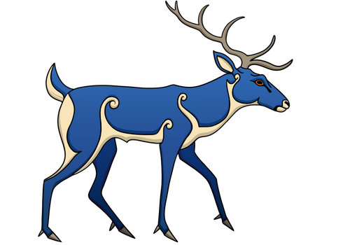 Pictish Stag