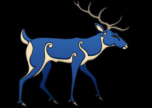 Pictish Stag