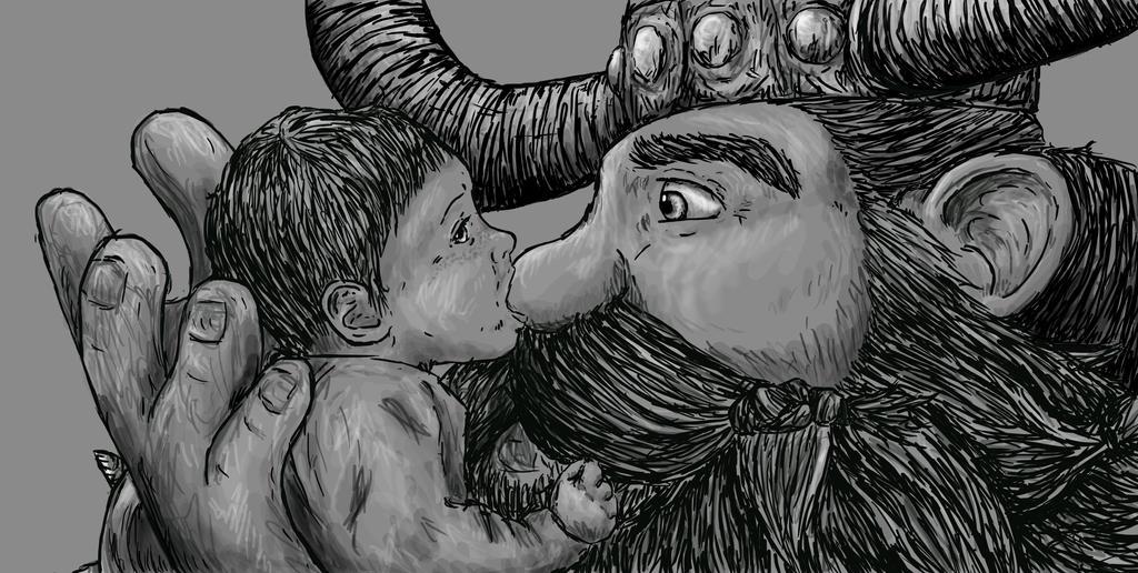 Hiccup His Daddy By Lenleg Deviantart – Fondos de Pantalla