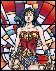 Wonder Woman by LenleG
