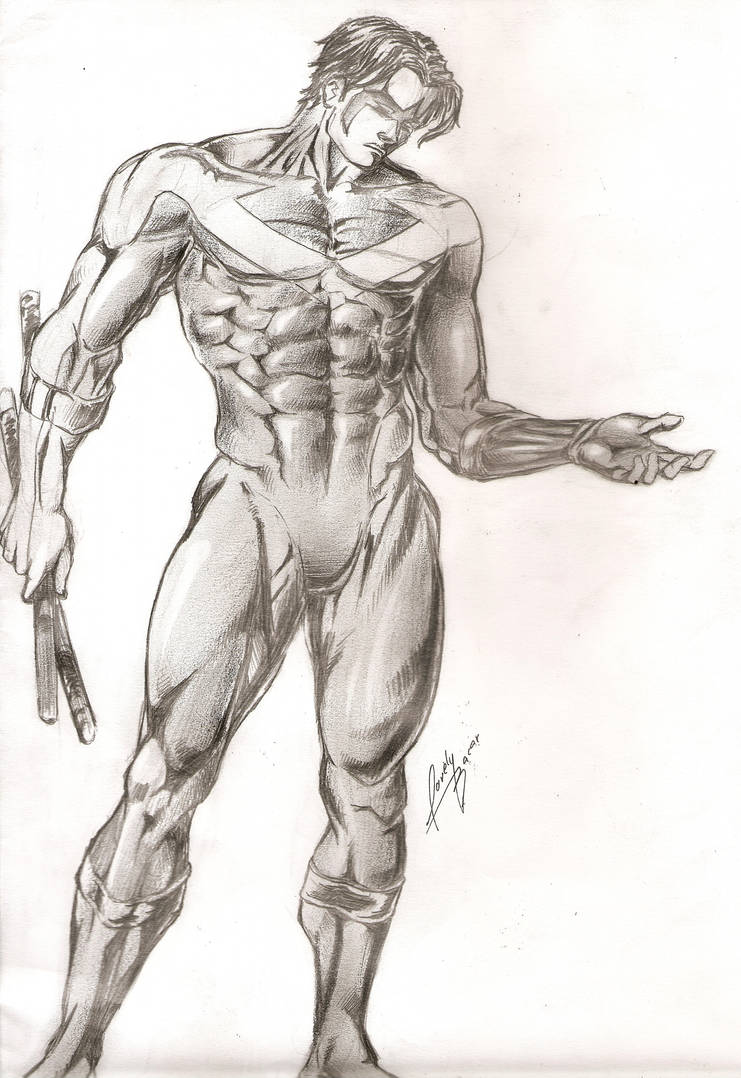 NightWing by Lovely-Bacar