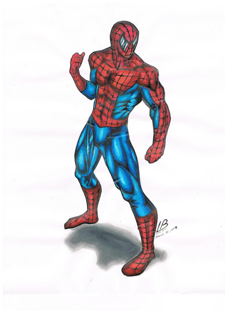 Spiderman by Lovely-Bacar