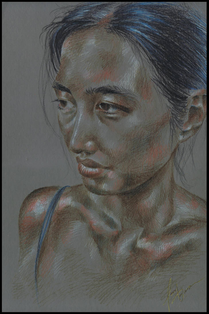 Female portrait Brenda by Lovely-Bacar