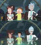 Rick and Morty screenshot redraw