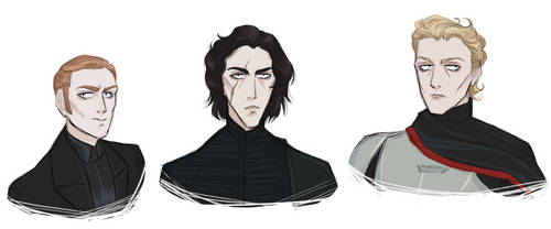 First Order trio by certibbs
