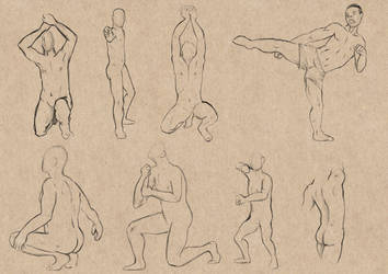 Sketch Study - Figures