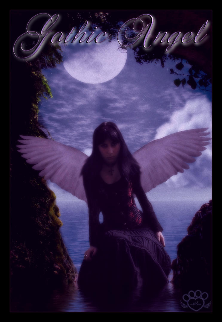 Gothic Angel by silentfuneral