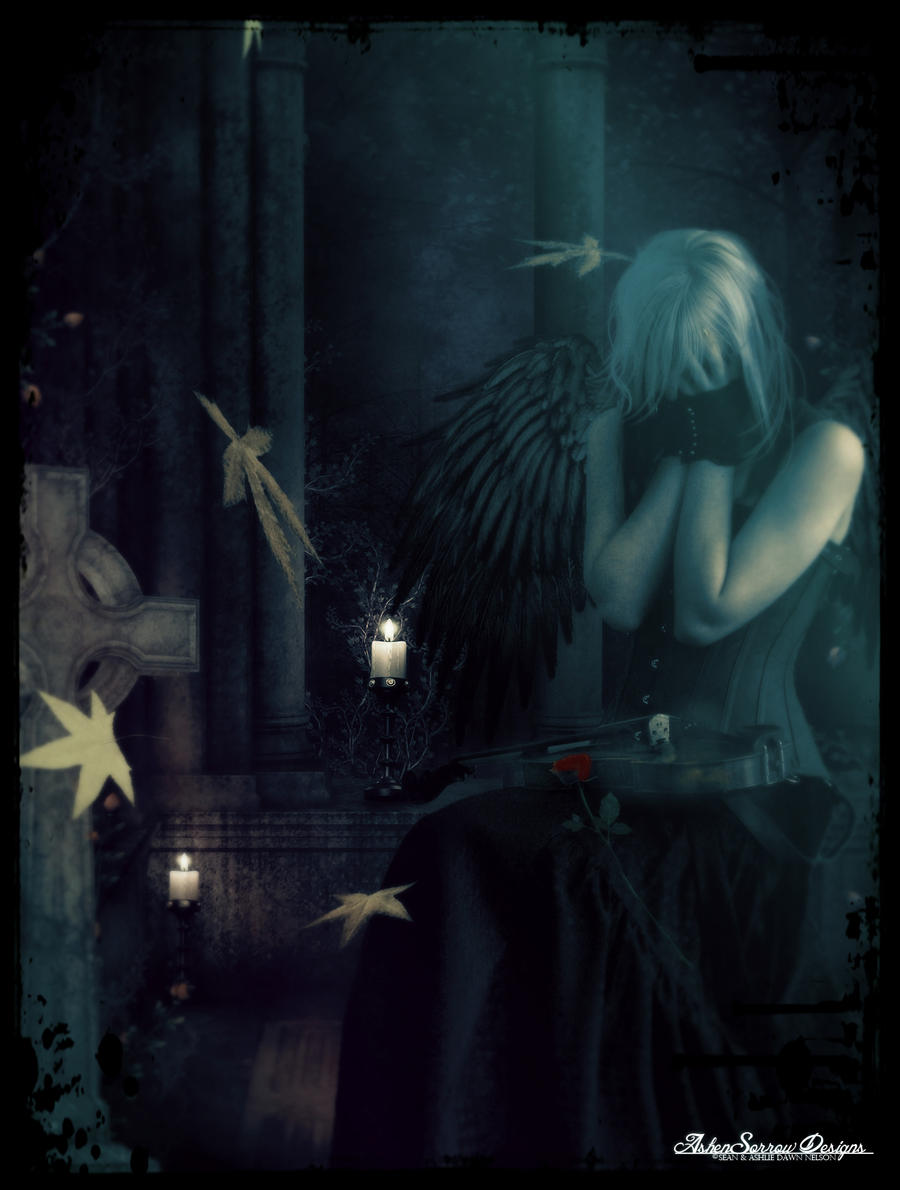 I Hear The Angels Crying by silentfuneral