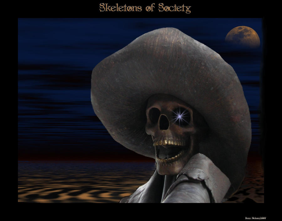 Skeletons Of Society by silentfuneral