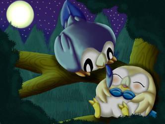 Fun at Moonnight by ShedragonArtist