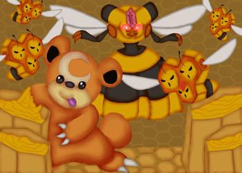 Whos got the Honey...? by ShedragonArtist