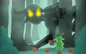 Foggy Visitor by ShedragonArtist