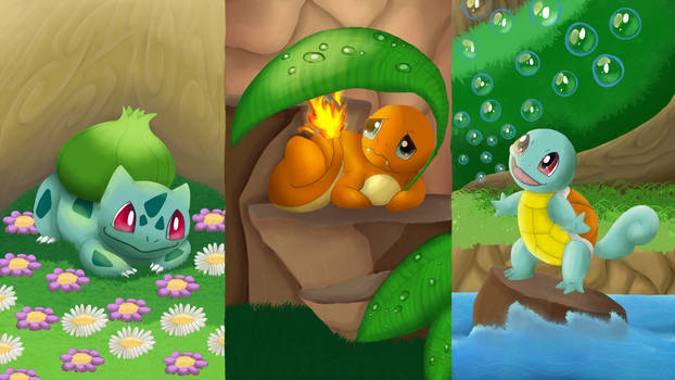 Anniversary of Pokemon - The first Three