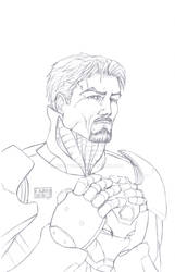 Tony Stark Commission by MetaWorks