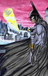 Water color Batman