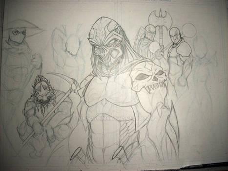 Crimson Blade Knights W.I.P. 2