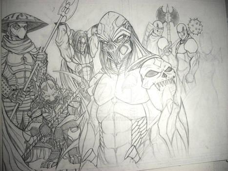 Crimson Blade Knights W.I.P. 3