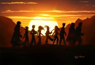 Trekking the Sunset