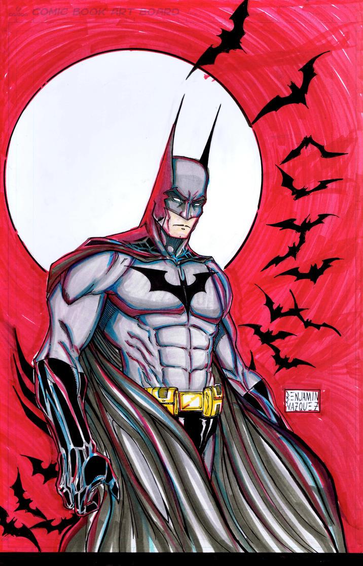 batman color wip by metaworks