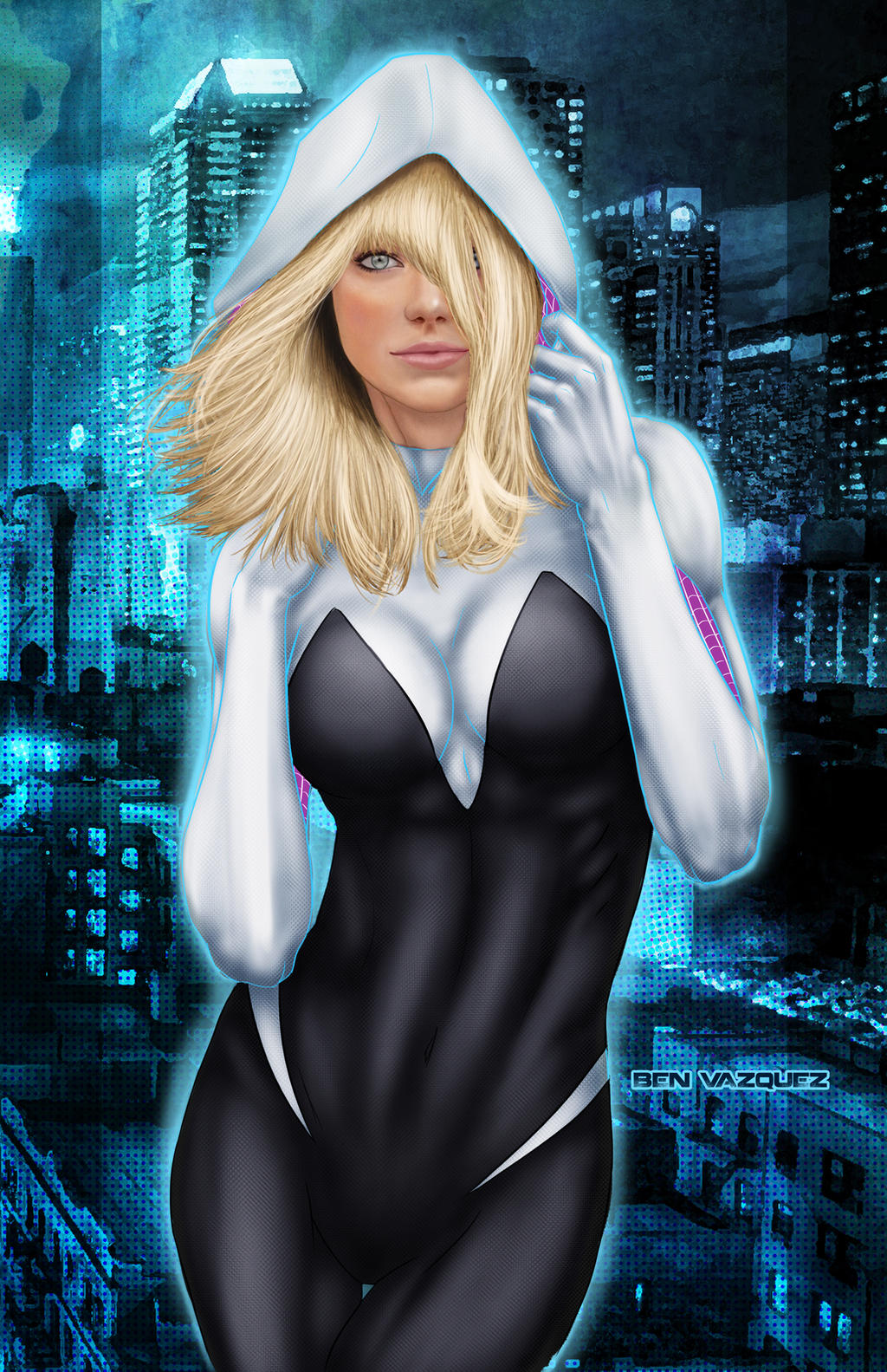 Spider Gwen By Souracid Marvel