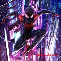 Miles Morales Spider-Man by MetaWorks