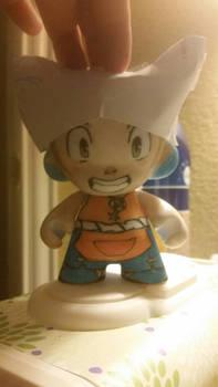 w.i.p Yugo Wakfu Munny doll