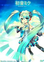 Vocaloid Miku by Citron-Ami