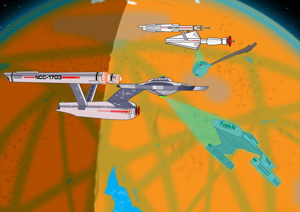 USS Quasar - Sunken Battle Cruiser - Disaster by kelloggs2066