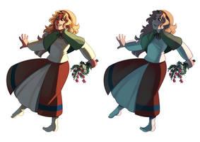Rosalie + alt palette by KaylaBirdee