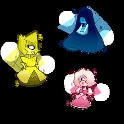 Diamonds as Sapphires by paulusky