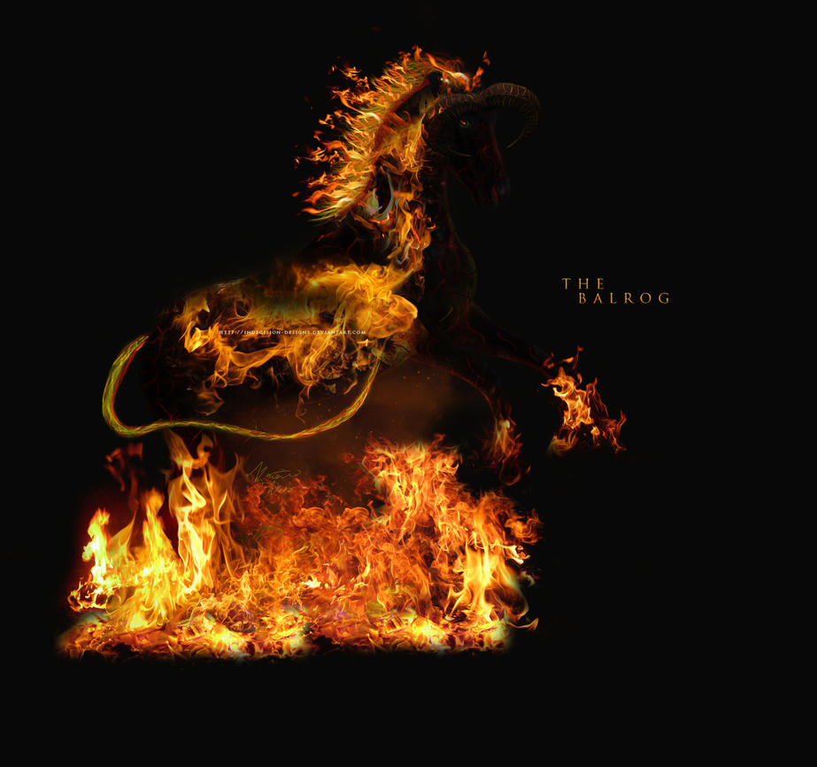 the balrog by indecision-designs