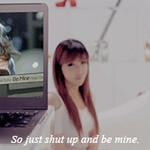[GIF] Bom : Be Mine by kaelxy