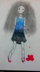 scar child (drawn) by echo9hotel