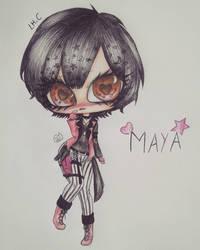 Chibi Maya LM.C by MiyuKoi