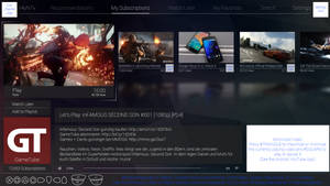 Playstation 4 YouTube App Concept (Update 1)