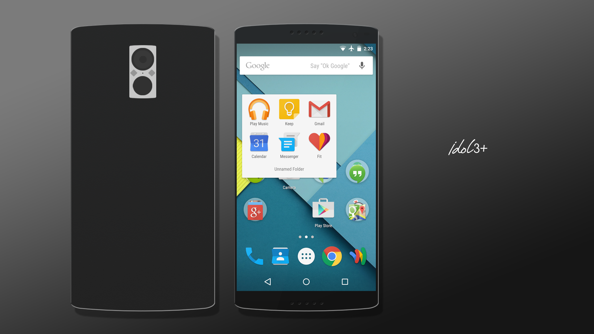 Alcatel Onetouch Idol 3 4 Concept Suggestion By
