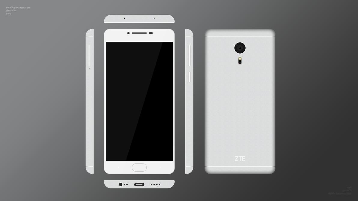 [Minimalist Concept] ZTE Axon 4 (149$) by r4yNTv on DeviantArt