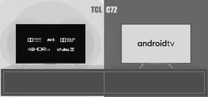 [Minimalist Concept] TCL C72 Series 4K Android TVs