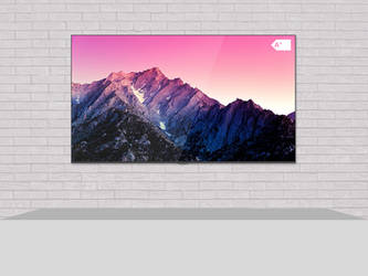 [Minimalist Concept] SHARP 4K HDR Android QLED TV