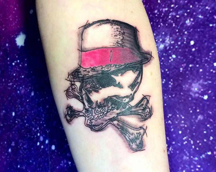 Broilers tattoo, graphic/scribble style by Electronic-Sin