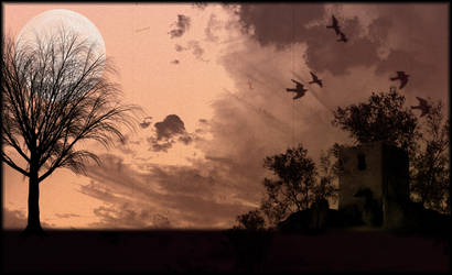 Lost moon by Andrex91
