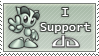 I Support DA - Stamp - by Andrex91