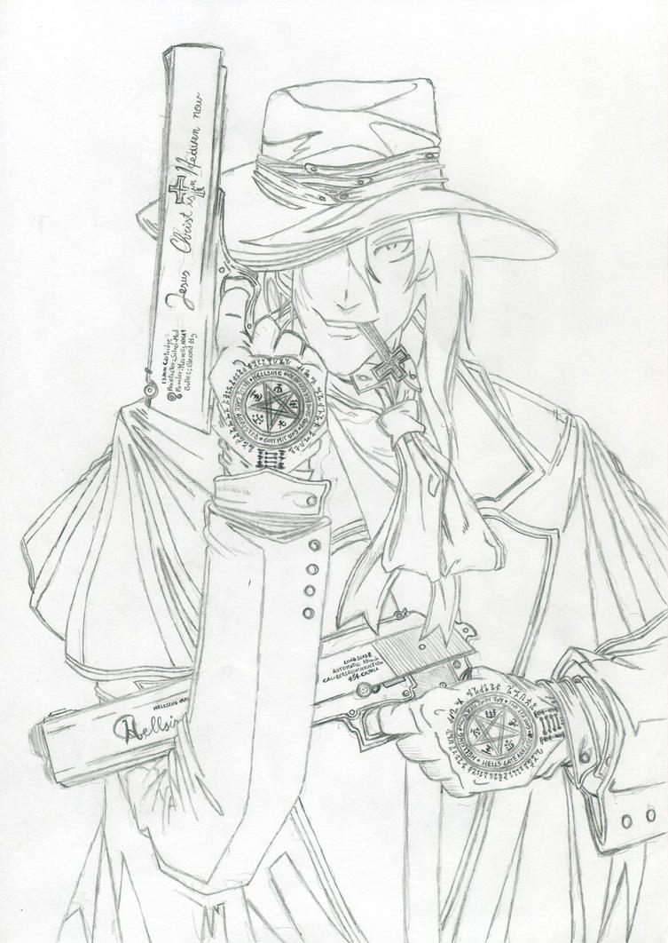 Alucard - Pencil by Andrex91